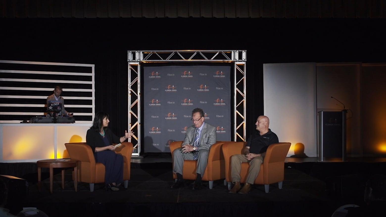 FIBA-Innovation Fusion 2018-Carmi Peleg/GlobeKeeper & Captain David Goodman/TPD