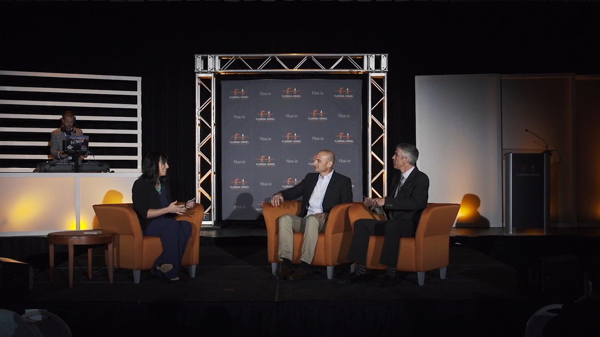 FIBA-Innovation Fusion 2018-Ido Sella/ECOncrete & Chris Cooley/Port Tampa Bay
