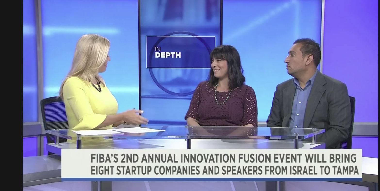 FIBA: Rachel Feinman discusses Innovation Fusion on Bay News 9