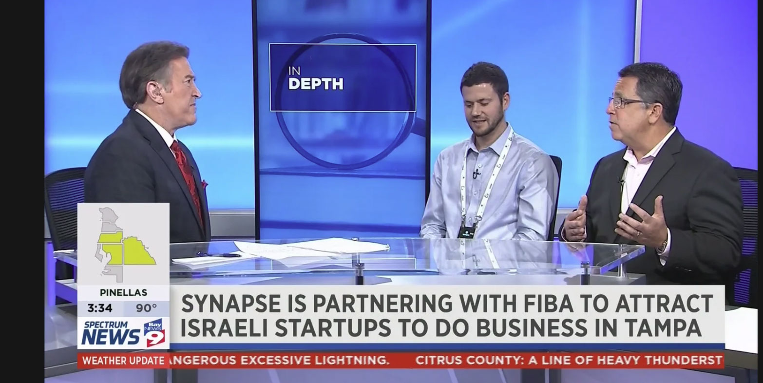FIBA: Shaked Lev, CEO of Say, and Marc Blumenthal, Co-Founder of Synapse, on BayNews 9
