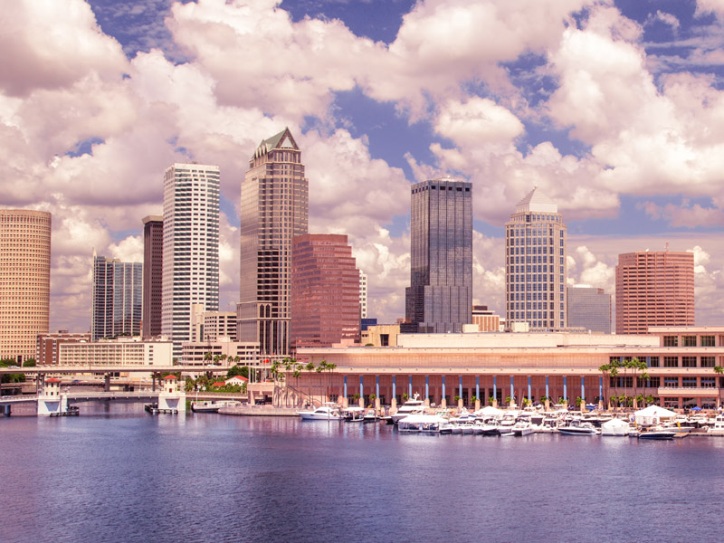 skyline of Tampa Bay